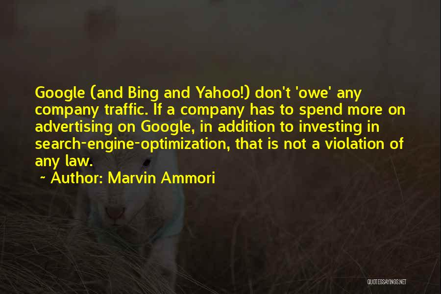 Traffic Violation Quotes By Marvin Ammori
