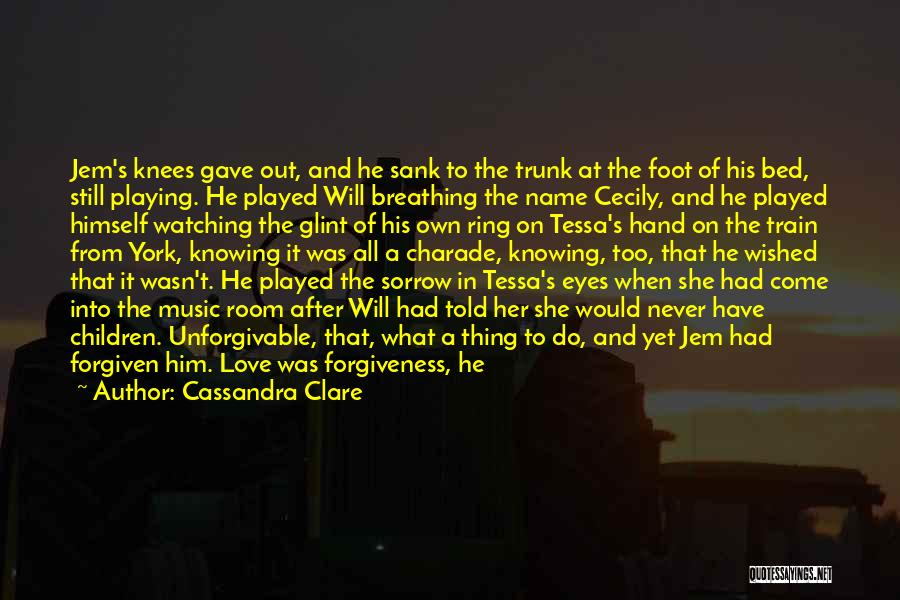 Train And Love Quotes By Cassandra Clare