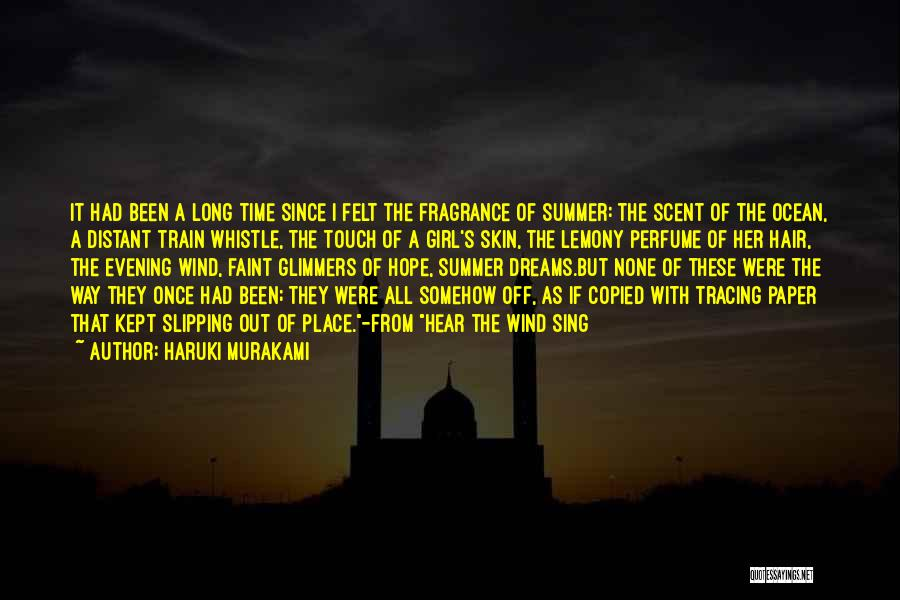 Train Way Quotes By Haruki Murakami