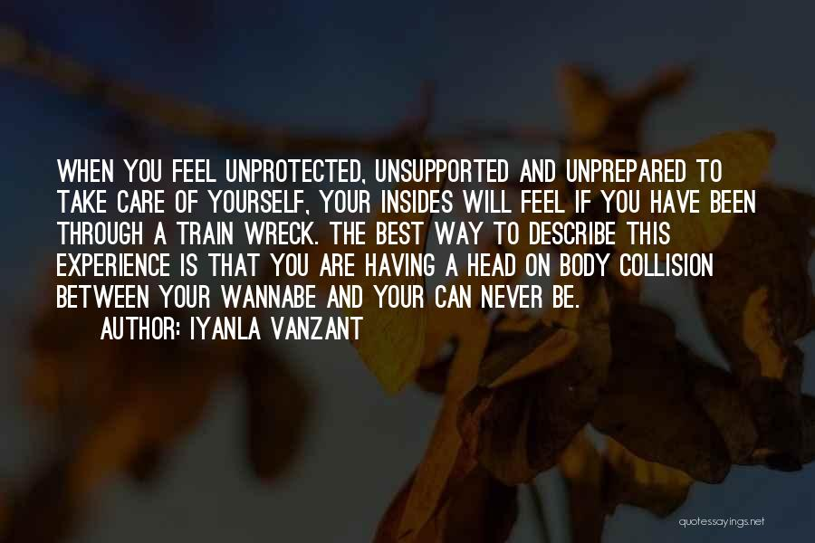 Train Way Quotes By Iyanla Vanzant