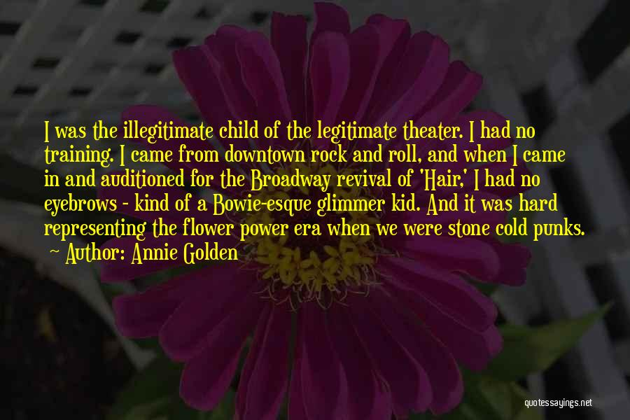 Training Hard Quotes By Annie Golden