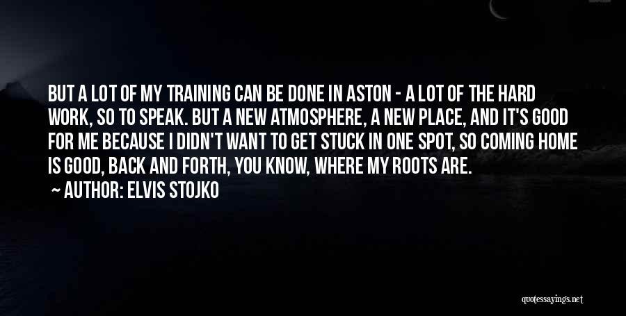 Training Hard Quotes By Elvis Stojko