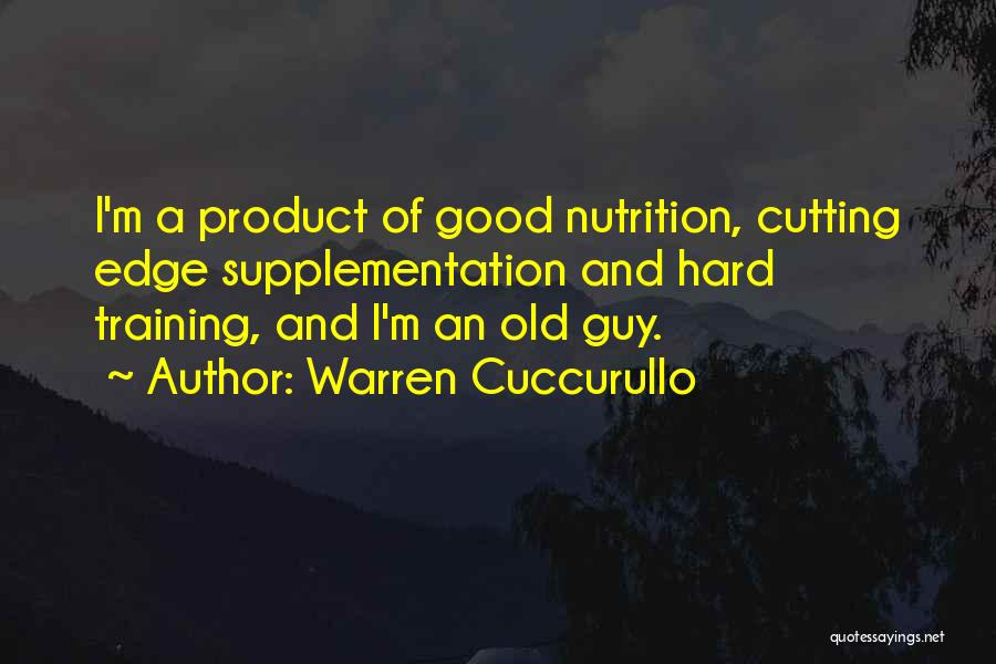 Training Hard Quotes By Warren Cuccurullo