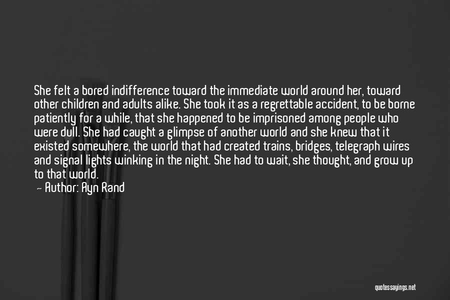 Trains Of Thought Quotes By Ayn Rand