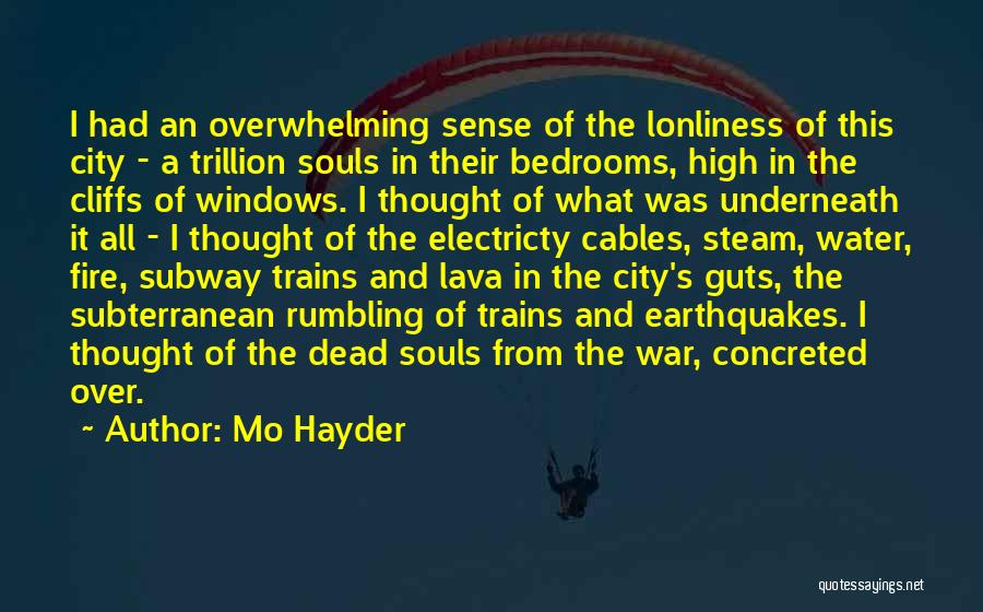 Trains Of Thought Quotes By Mo Hayder