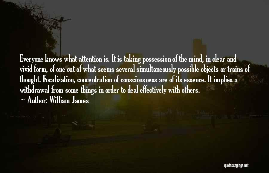 Trains Of Thought Quotes By William James