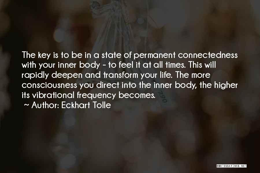 Transform Your Body Quotes By Eckhart Tolle