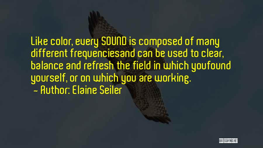 Transformation Of Yourself Quotes By Elaine Seiler