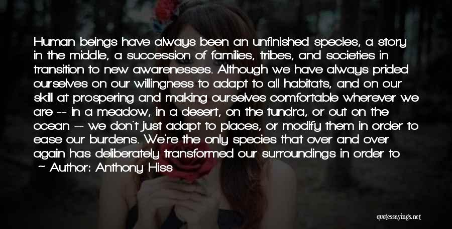 Transition And Growth Quotes By Anthony Hiss