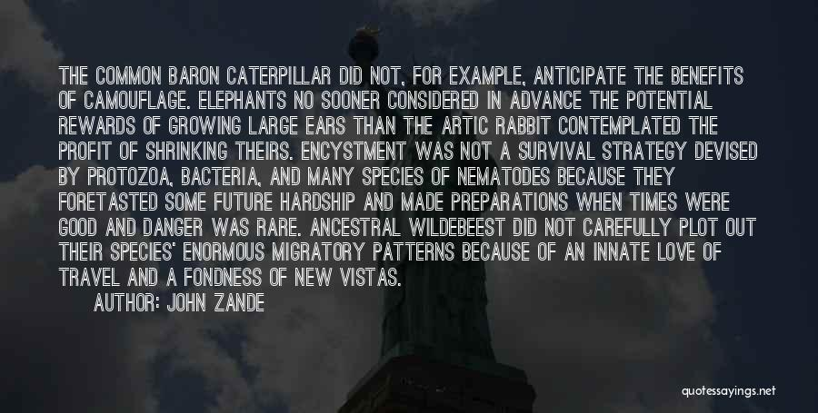 Travel And The Future Quotes By John Zande