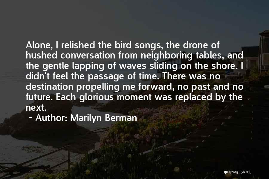 Travel And The Future Quotes By Marilyn Berman