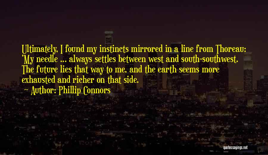 Travel And The Future Quotes By Phillip Connors