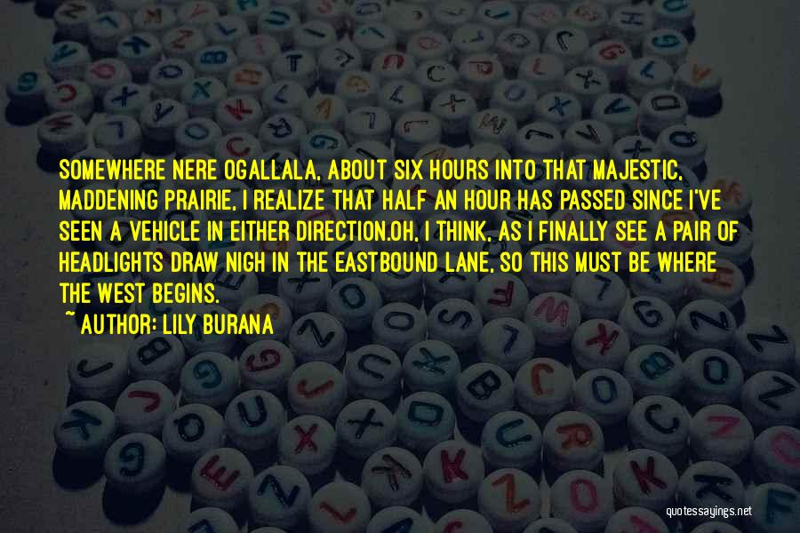 Travel The Road Quotes By Lily Burana