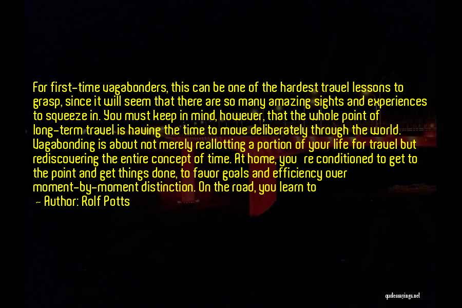 Travel The Road Quotes By Rolf Potts