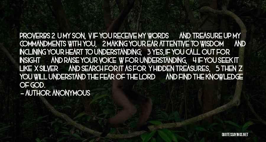 Treasure And Heart Quotes By Anonymous
