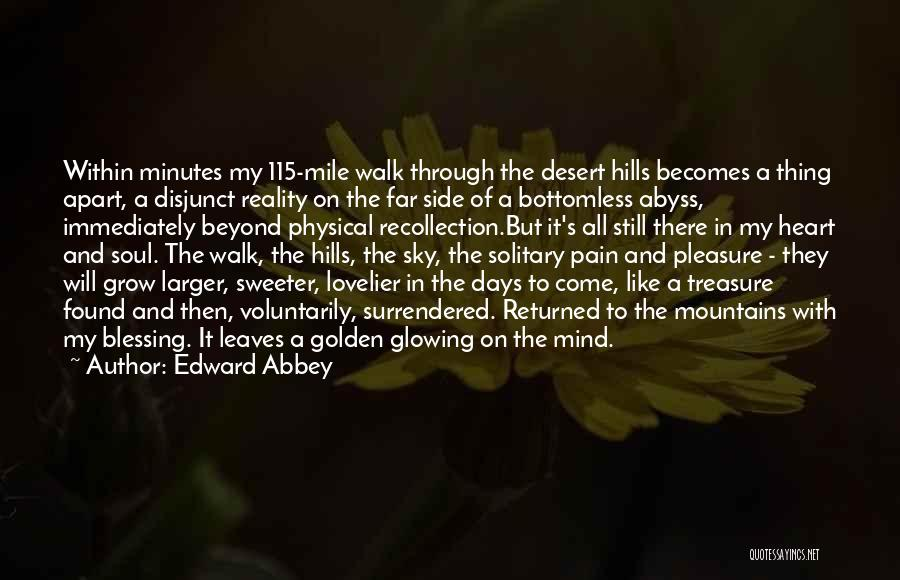 Treasure And Heart Quotes By Edward Abbey