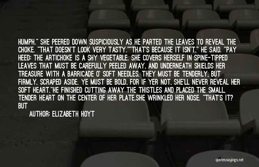 Treasure And Heart Quotes By Elizabeth Hoyt
