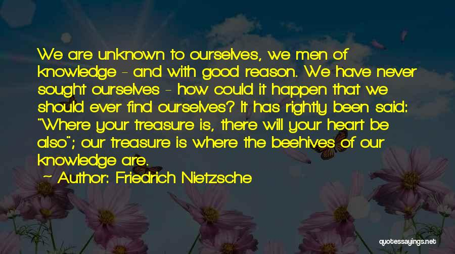Treasure And Heart Quotes By Friedrich Nietzsche