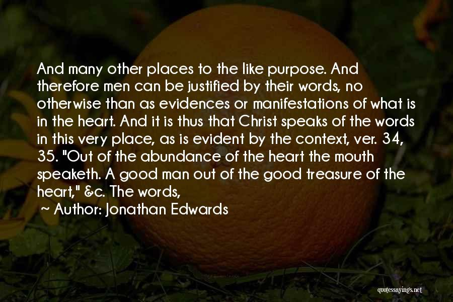 Treasure And Heart Quotes By Jonathan Edwards