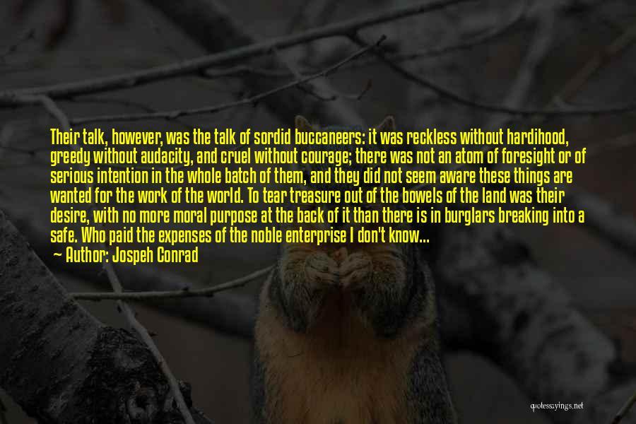 Treasure And Heart Quotes By Jospeh Conrad