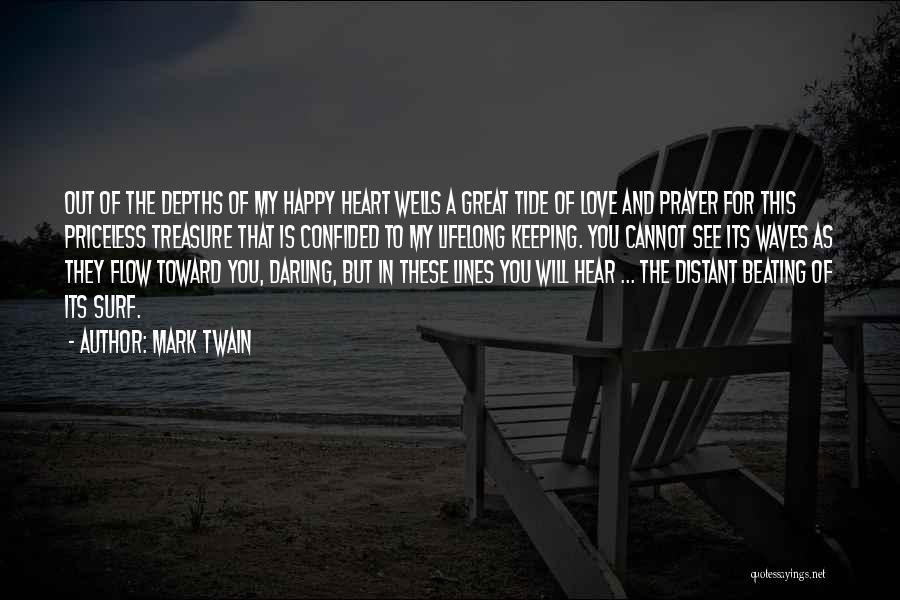 Treasure And Heart Quotes By Mark Twain