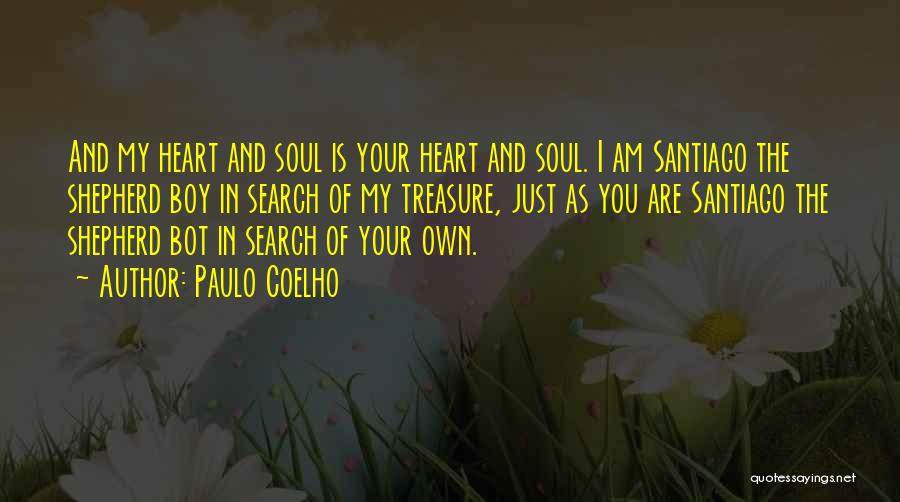 Treasure And Heart Quotes By Paulo Coelho