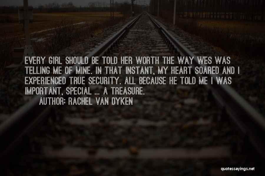 Treasure And Heart Quotes By Rachel Van Dyken
