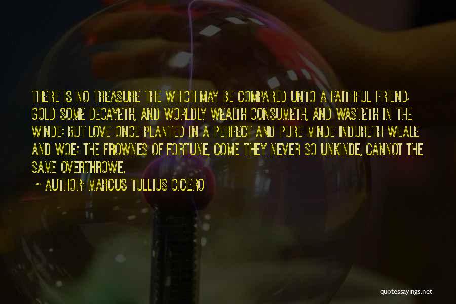 Treasure And Love Quotes By Marcus Tullius Cicero