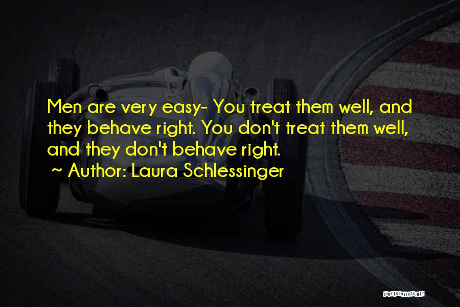 Treat You Right Quotes By Laura Schlessinger