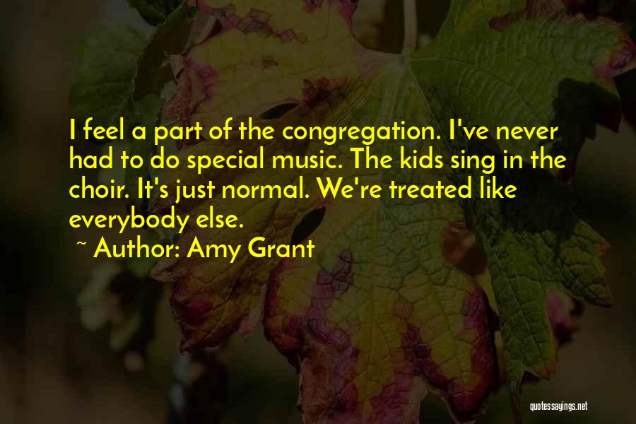 Treated Special Quotes By Amy Grant