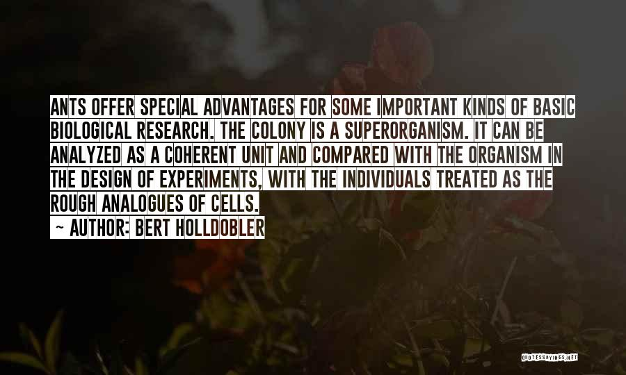 Treated Special Quotes By Bert Holldobler
