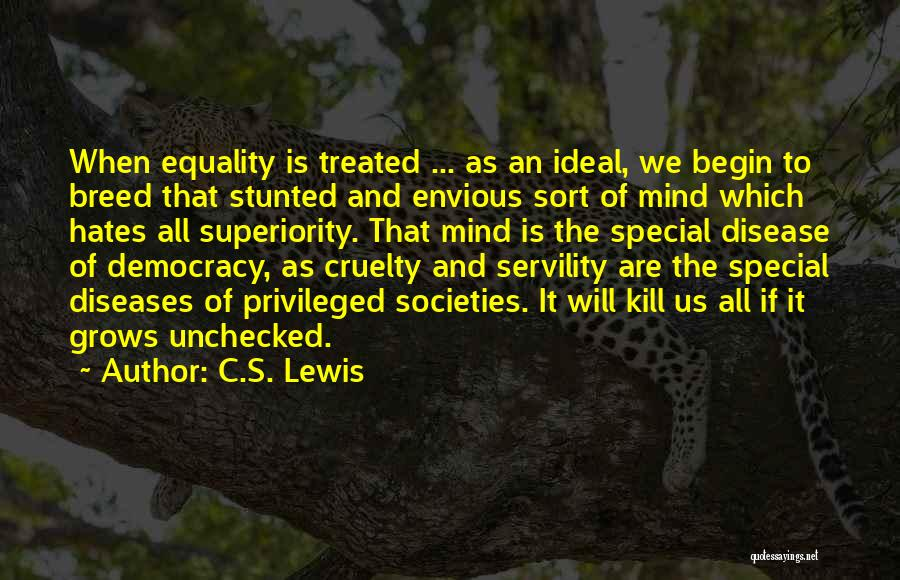 Treated Special Quotes By C.S. Lewis