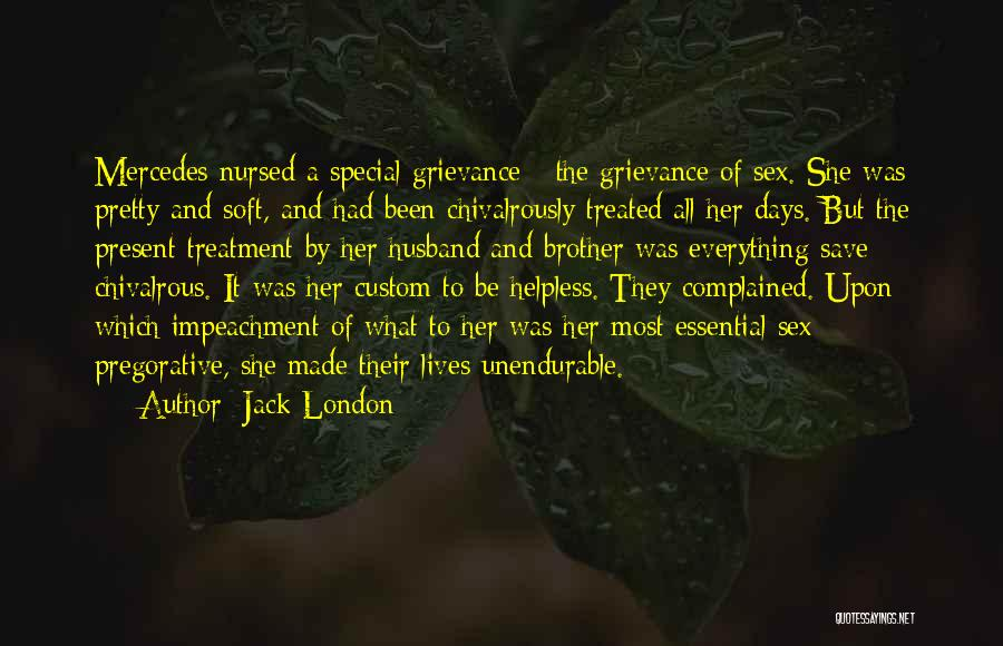 Treated Special Quotes By Jack London