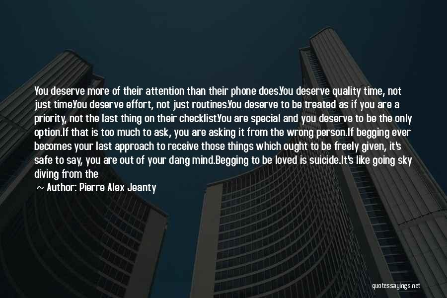Treated Special Quotes By Pierre Alex Jeanty