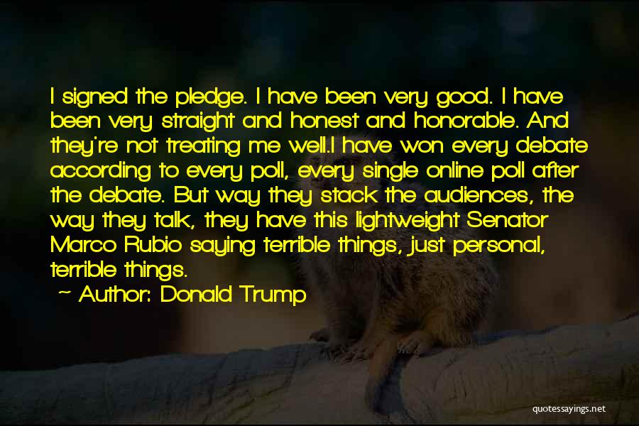 Treating Yourself Good Quotes By Donald Trump