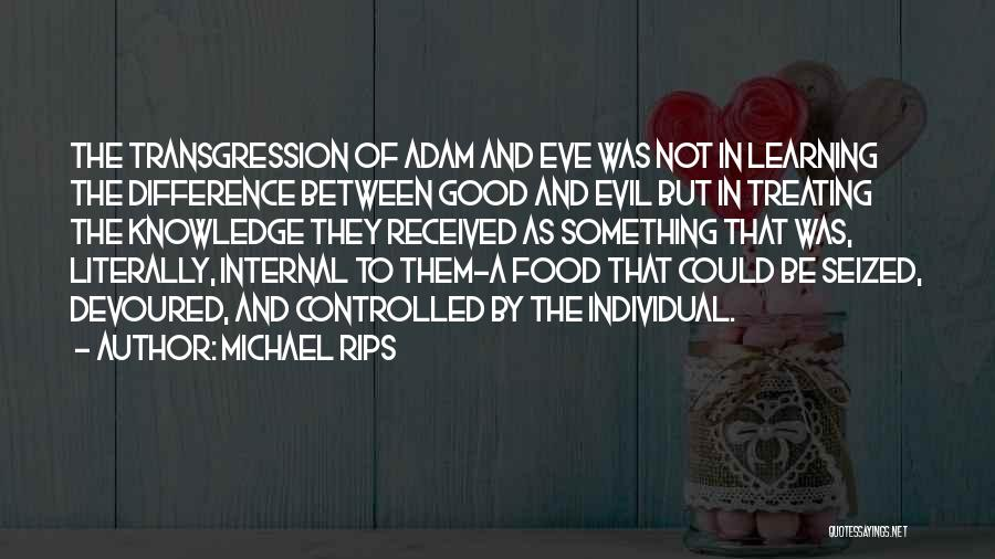 Treating Yourself Good Quotes By Michael Rips
