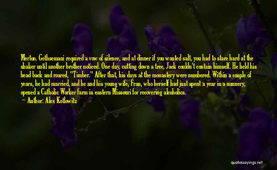 Tree And Quotes By Alex Kotlowitz