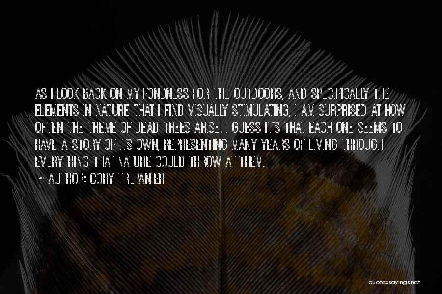 Tree And Quotes By Cory Trepanier