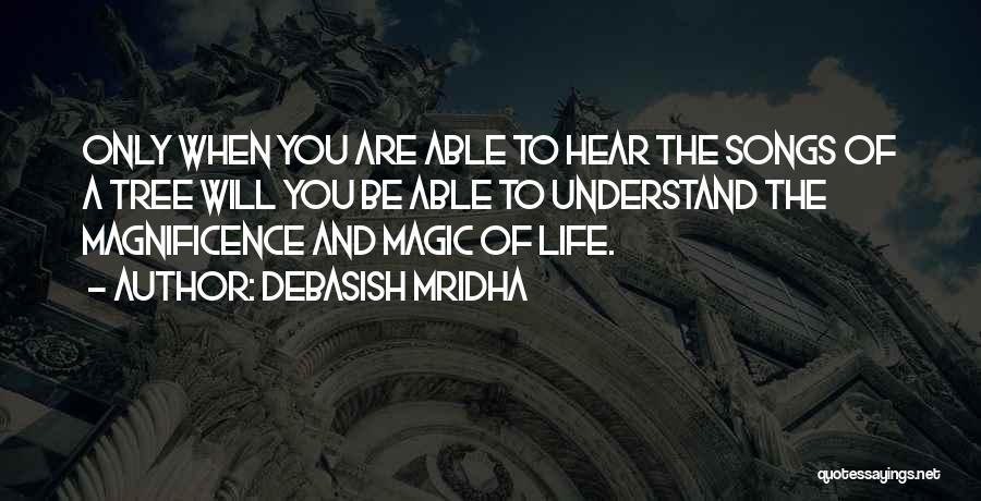 Tree And Quotes By Debasish Mridha