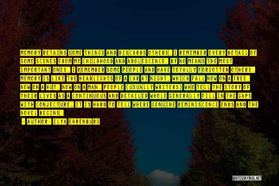 Tree And Quotes By Ilya Ehrenburg