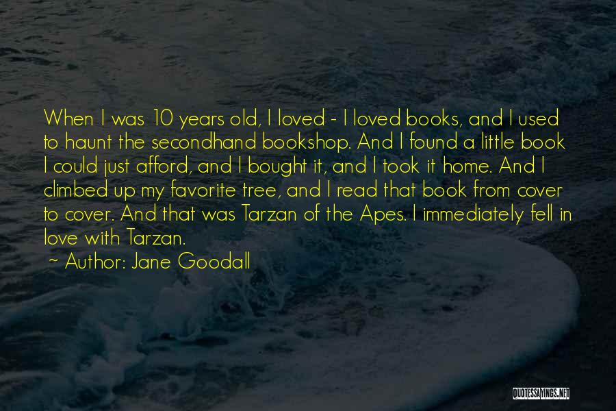 Tree And Quotes By Jane Goodall