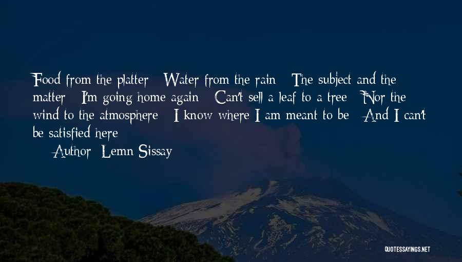 Tree And Quotes By Lemn Sissay