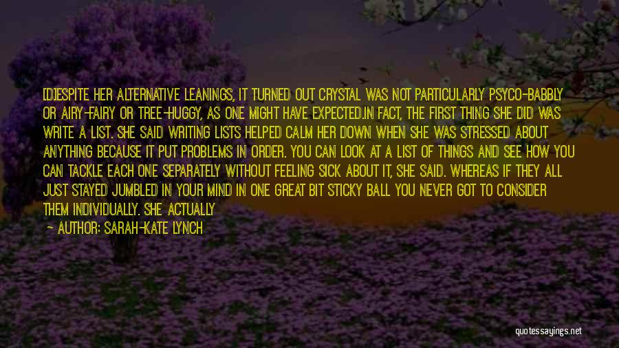 Tree And Quotes By Sarah-Kate Lynch