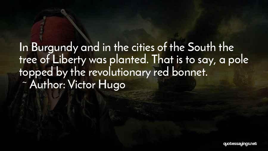 Tree And Quotes By Victor Hugo