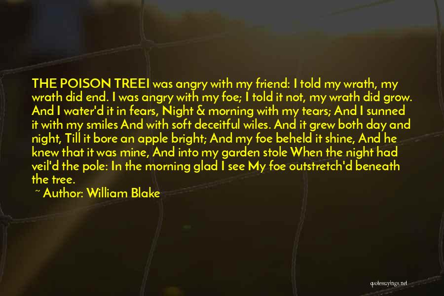 Tree And Quotes By William Blake