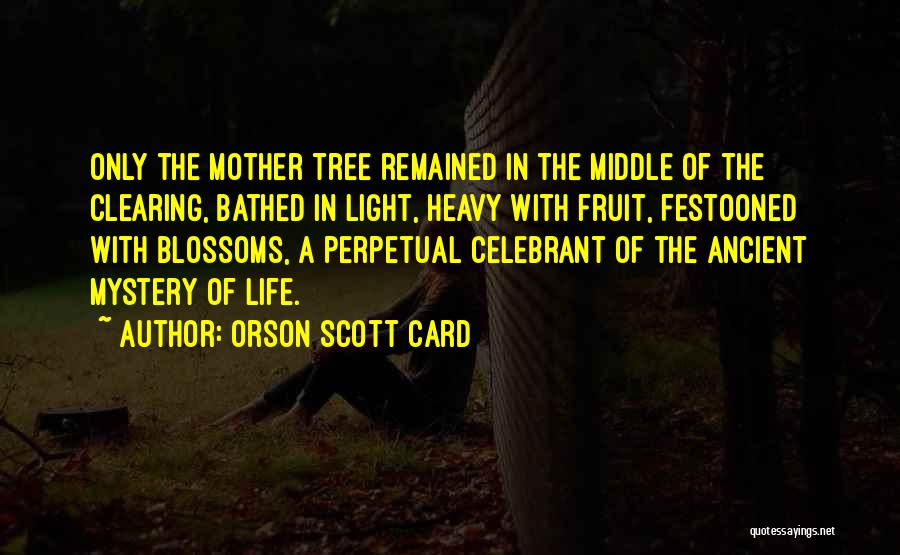 Tree Blossoms Quotes By Orson Scott Card