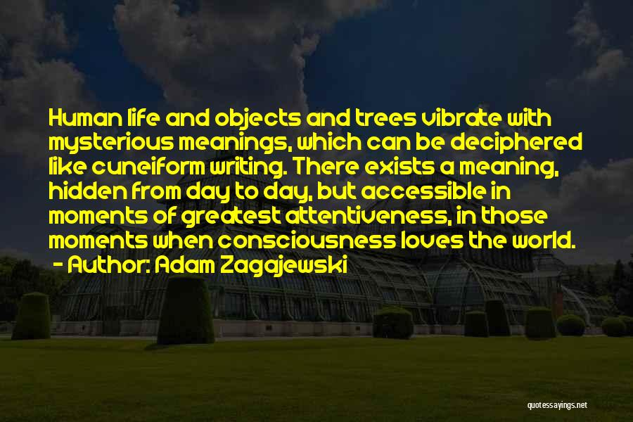 Tree Of Life Meaning Quotes By Adam Zagajewski
