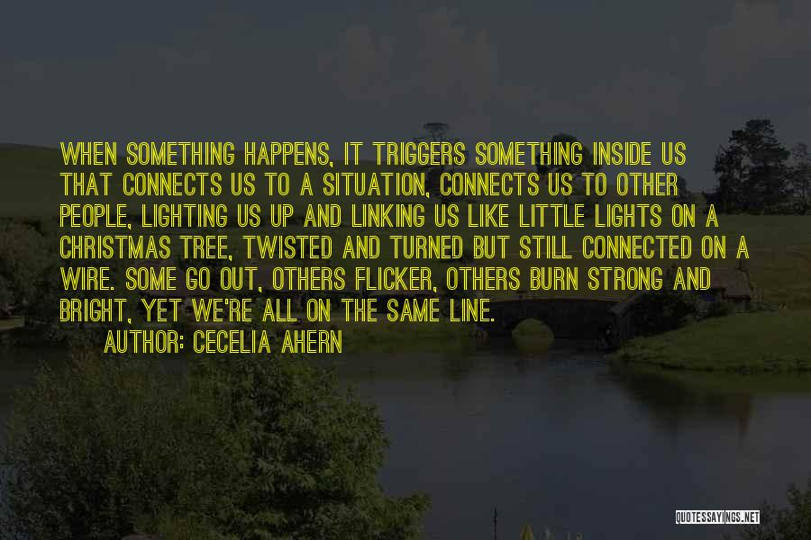 Tree With Lights Quotes By Cecelia Ahern