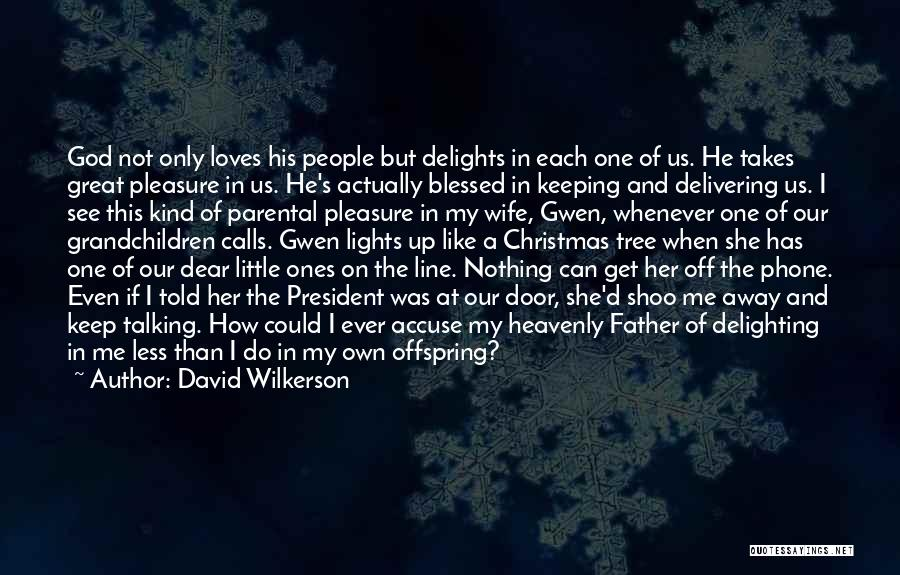 Tree With Lights Quotes By David Wilkerson