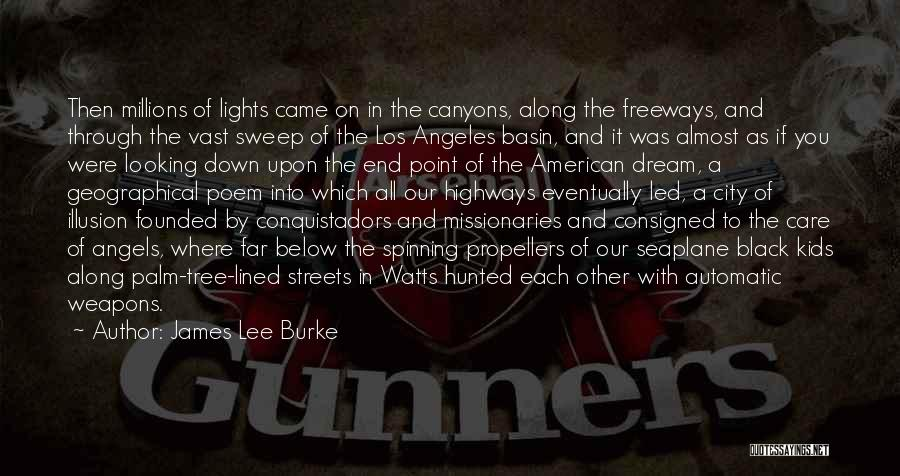 Tree With Lights Quotes By James Lee Burke